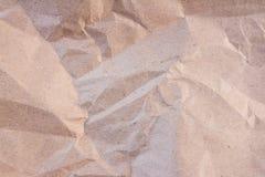Grand de papier froissé comme fond photo stock