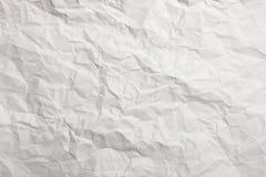 Grand de papier froissé comme fond Photos stock
