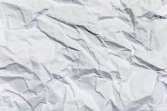 Grand de papier froissé comme fond Image libre de droits