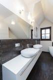 Grand design - bathroom counter Royalty Free Stock Image