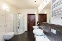 Grand design - bathroom interior Stock Photography