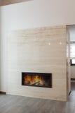 Grand design - Fireplace Royalty Free Stock Photos