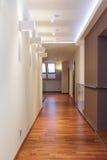 Grand design - hallway Royalty Free Stock Image