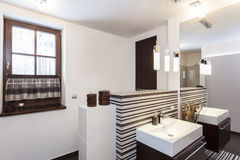 Grand design - Original bathroom Stock Photography