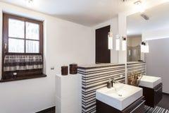 Grand design - Original bathroom Stock Photography