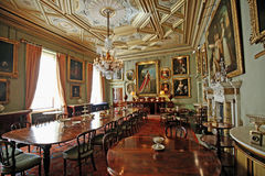 The Grand Dining Room inside Syon House Stock Photo