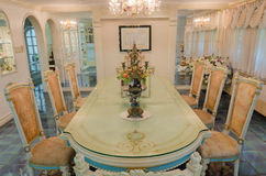 Grand Dinning Room Stock Photo