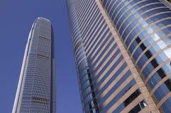 Grand dos commercial à Hong Kong Images libres de droits