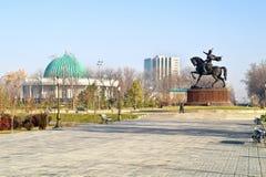 Grand dos d'Amir Temur Photographie stock libre de droits
