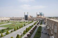 Grand dos d'Imam à Isphahan, Iran Photo libre de droits