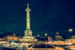Grand dos de bastille, Paris photos stock