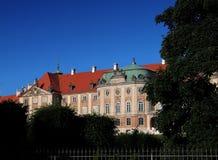Grand dos de château à Varsovie Image libre de droits