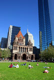 Grand dos de Copley, Boston Photographie stock libre de droits