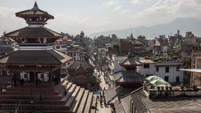 Grand dos de Durbar à Katmandou Photos stock