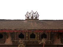Grand dos de Durbar - Katmandou, Népal photographie stock