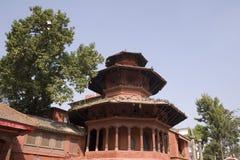 Grand dos de Durbar - Katmandou, Népal Photos stock