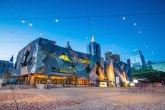 Grand dos de fédération à Melbourne images stock
