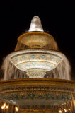 Grand dos de fontaine de Bakou Images libres de droits