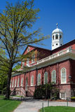 Grand dos de Harvard, Cambridge Photographie stock