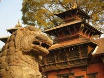 Grand dos de Katmandou Durbar Photos libres de droits