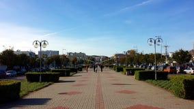 Grand dos de Kosciuszko à Gdynia, Pologne Photos stock
