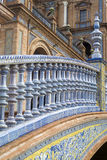 Grand dos de l'Espagne en Séville images stock