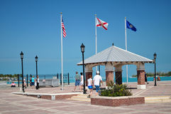 Grand dos de Mallory, Key West la Floride Photos libres de droits