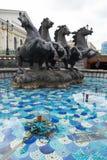 Grand dos de Manez à Moscou. Photo libre de droits