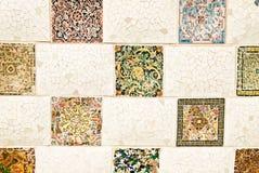 Grand dos de mosaïque Photographie stock libre de droits