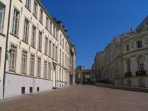 Grand dos de musée de Bruxelles. Photos libres de droits