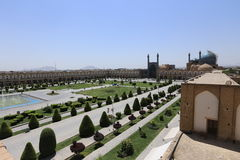 Grand dos de Naqsh-e Jahan Images stock