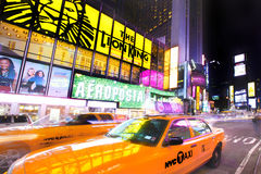 Grand dos de New York Times Photos libres de droits