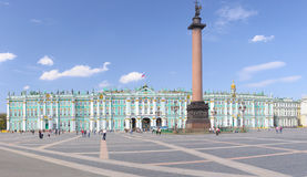 Grand dos de palais, St Petersburg, Russie Photographie stock libre de droits