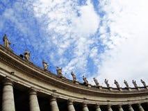 Grand dos de Peter de saint Image stock