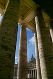 Grand dos de Peter de saint - Rome - Italie image stock