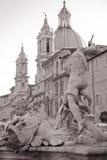 Grand dos de Piazza Navona, Rome, Italie Image stock