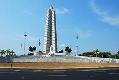 Grand dos de révolution, La Havane, Cuba Images stock