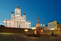 Grand dos de sénat à Helsinki photos stock