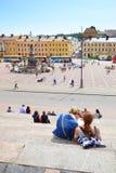 Grand dos de sénat à Helsinki photos libres de droits