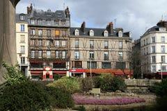 grand dos de saint de Rouen de maclou de l'aitre de France photos libres de droits