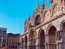 Grand dos de San Marco à Venise, Italie photos stock
