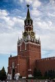 Grand dos de Spasskaya Tower images libres de droits