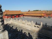 Grand dos de Tian'anmen Photos stock