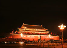 Grand dos de Tian-An-Men Photos stock