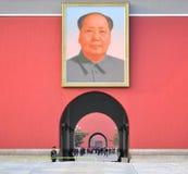 Grand dos de Tienanmen Image libre de droits