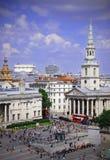 Grand dos de Trafalgar Photographie stock