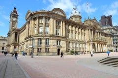 Grand dos de Victoria, Birmingham Images libres de droits