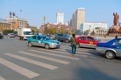 Grand dos de Zhongshan Image libre de droits