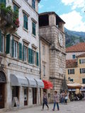 Grand dos des bras, Kotor, Monténégro photo libre de droits
