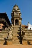 Grand dos durbar de Patan, bhaktapur, Népal photo libre de droits